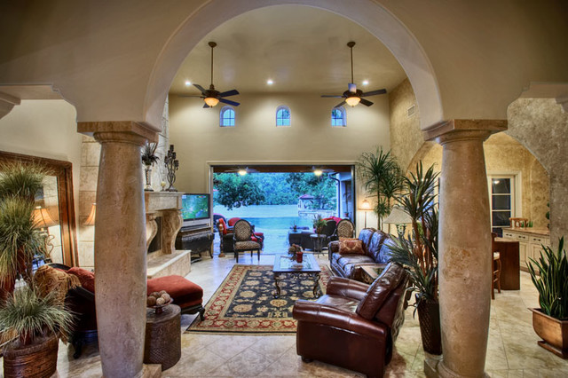 8200 Big View mediterranean living room