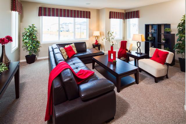 827 New Brighton Drive contemporary-living-room