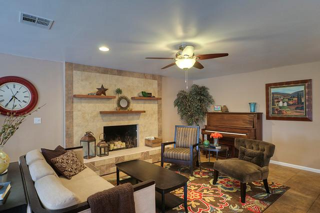 8343 E Via De Encanto traditional-living-room