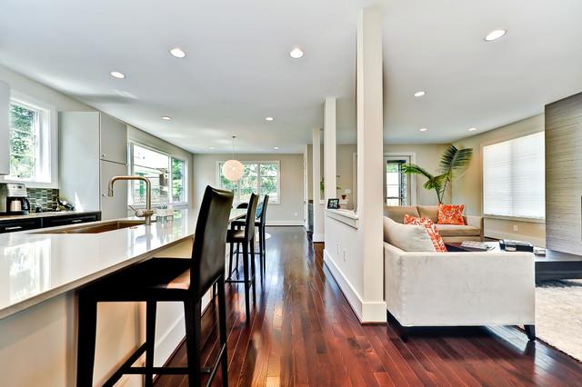 Arlington (Columbia Pike) New Modern Construction contemporary-living-room