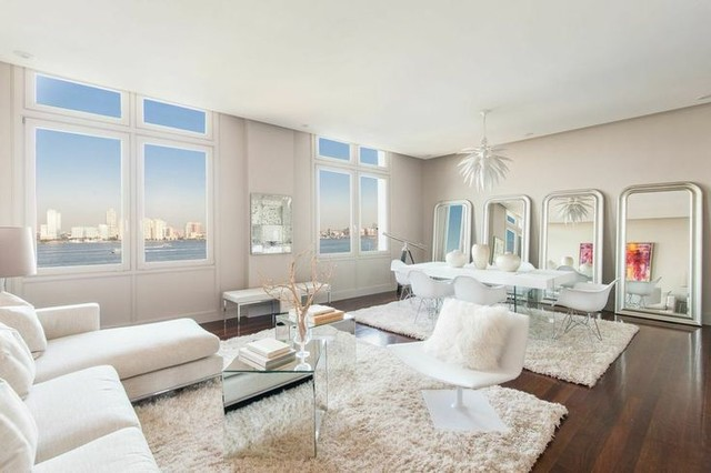92 Laight Street For Luis D Ortiz Million Dollar Listing Modern Living Room New York