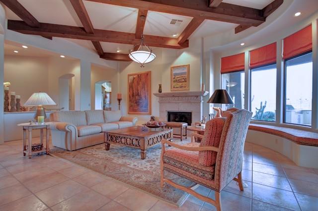 9290 E Thompson Peak Parkway #201 mediterranean-living-room
