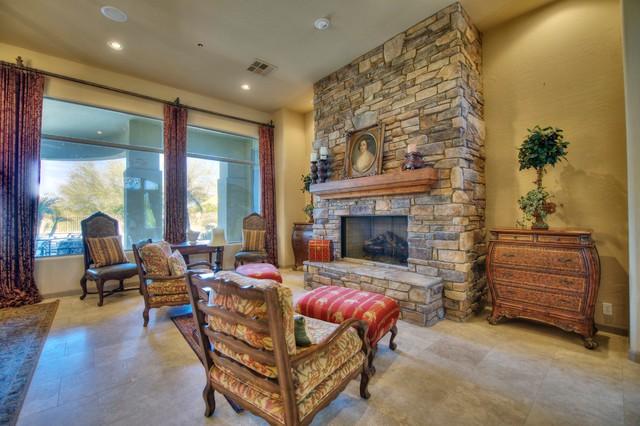 9290 E Thompson Peak Parkway #220 mediterranean-living-room