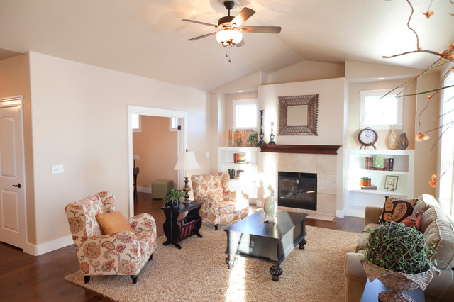 Unfinished Furniture Boise 952 White Birch - Traditional - Living Room - Other - by Wolverton ...