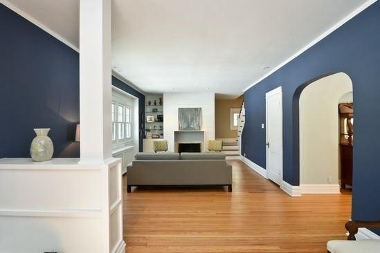 9th Street Tudor transitional-living-room