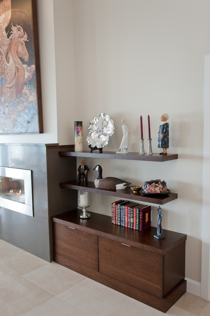A & R Cabinetry Ltd Charlottetown Renovation contemporary-living-room