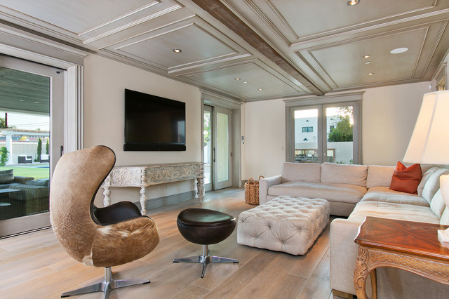 'A' Avenue Residence contemporary-living-room