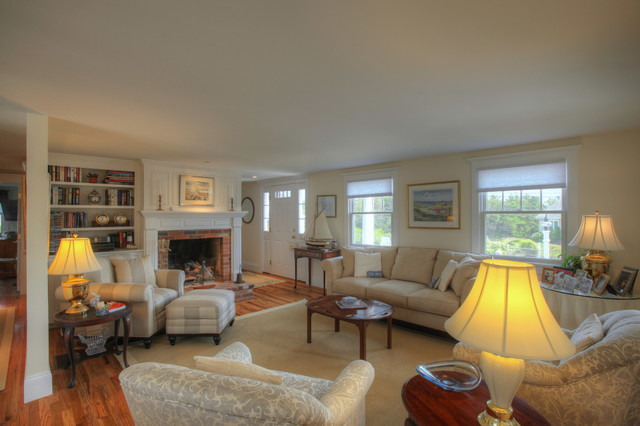 A Charming home at Bucks Lane traditional-living-room