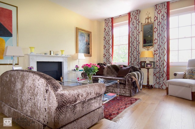 A Chiccoso Flat In London Eclectic Living Room