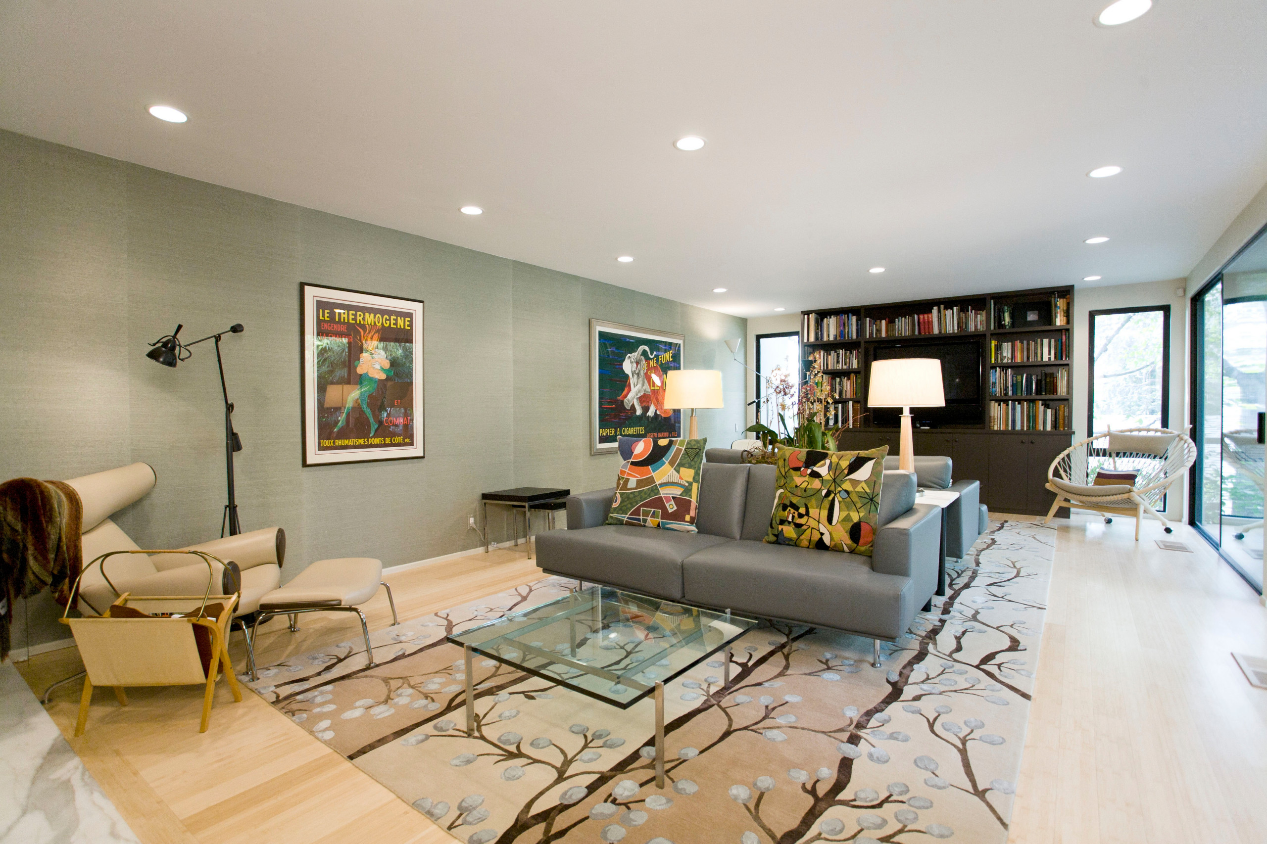 A Classic 1940's Mid Century Modern Home with Asian Design Influences