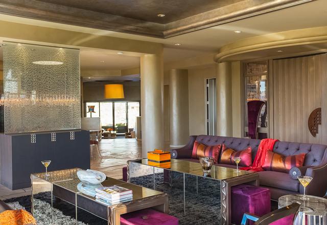 A Desert Sanctuary southwestern-living-room