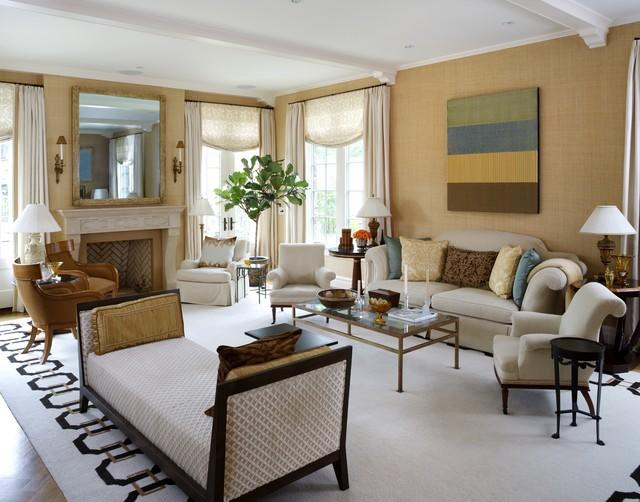 A Designer's Home traditional-living-room