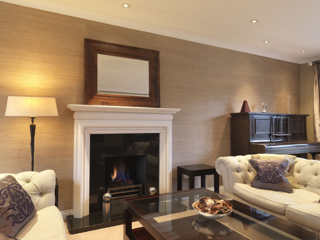 A Hampshire Family Home - traditional - living room - south east