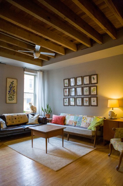 A House of Many Years eclectic-living-room