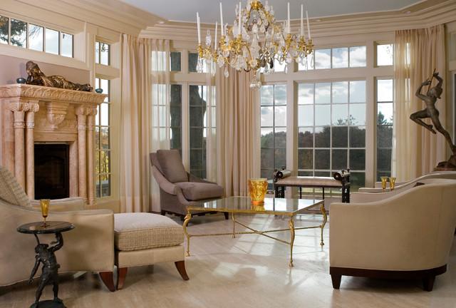 A.I.W. Designs traditional-living-room