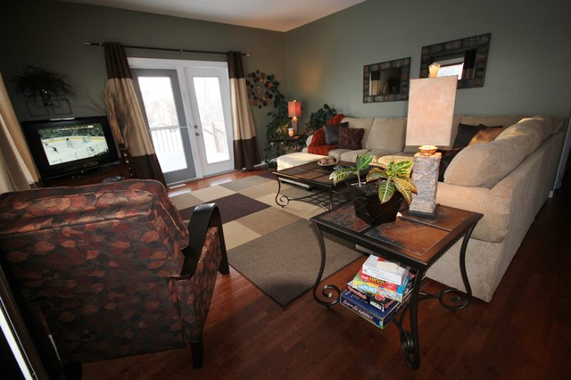 A Kitchen Remodel and more.... traditional-living-room