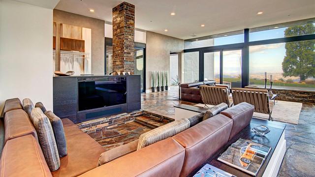 A Malibu Project modern-living-room