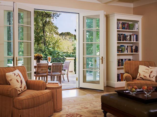 A Mediterranean Villa in DC traditional-living-room