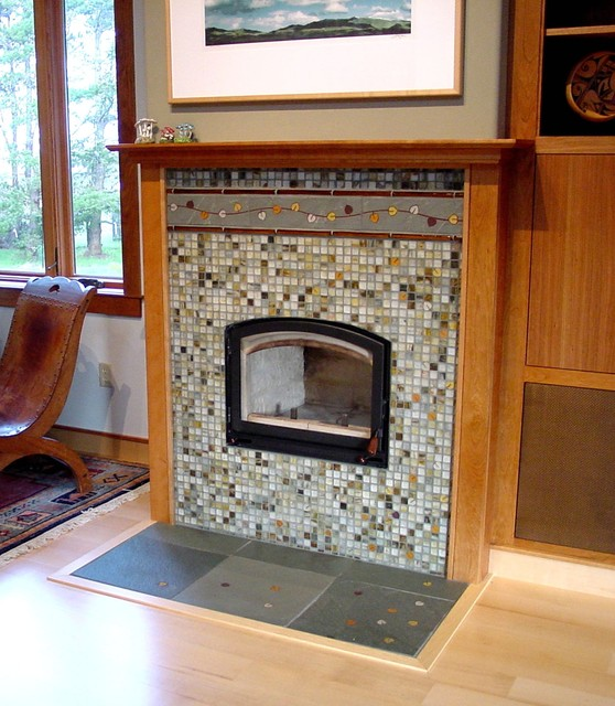 A Mendocino Fireplace Traditional Living Room San Francisco