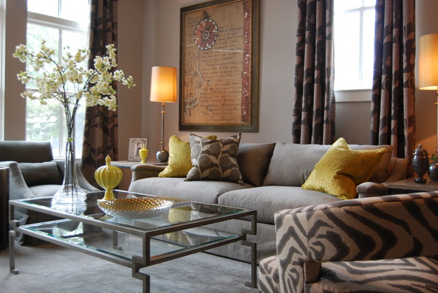 A Model Home In Old Town Alexandria Va Contemporary Living Room Dc Metro By D2 Interior