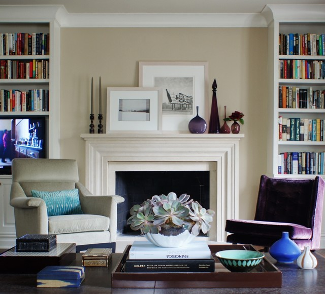 A Modern Gem Traditional Living Room New York By Christopher