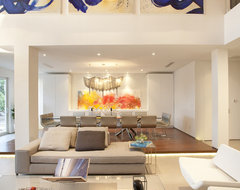 A Modern Miami Home modern living room