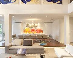 A Modern Miami Home modern-living-room