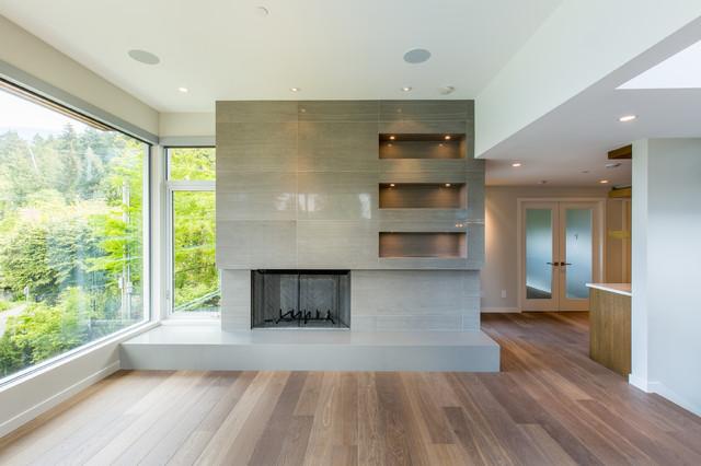 A Modern Perspective - Moderne - Salon - Vancouver - par ...