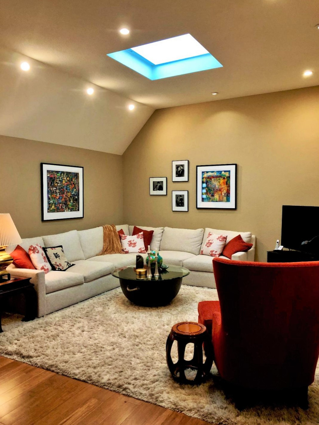 """A New Living Room for the """"Making Music at Home in Sonoma"""" Project"""