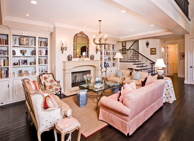 Superior A Newport Beach, Lido Island French Provincial Manor Mediterranean Living  Room