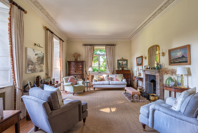 A Place To Relax Victorian Living Room Devon By