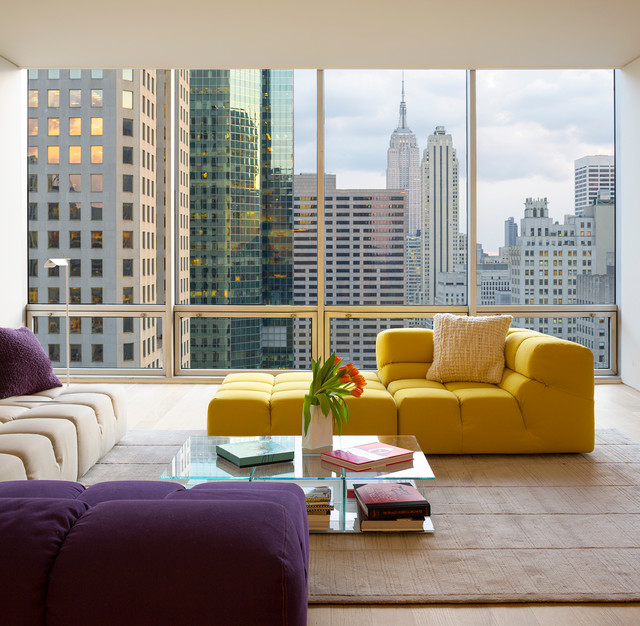 Colorful Rooms With A View: A Pop Of Color