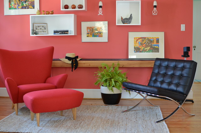 A Re(de)fined Living Space modern-living-room