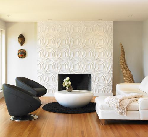 modern living room Panele 3D   trójwymiarowe dekoracje