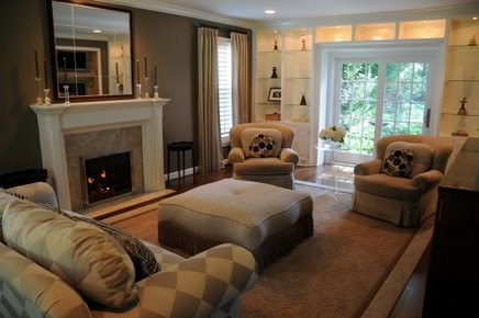A sample of JParkerMcCollum Living Spaces traditional-living-room