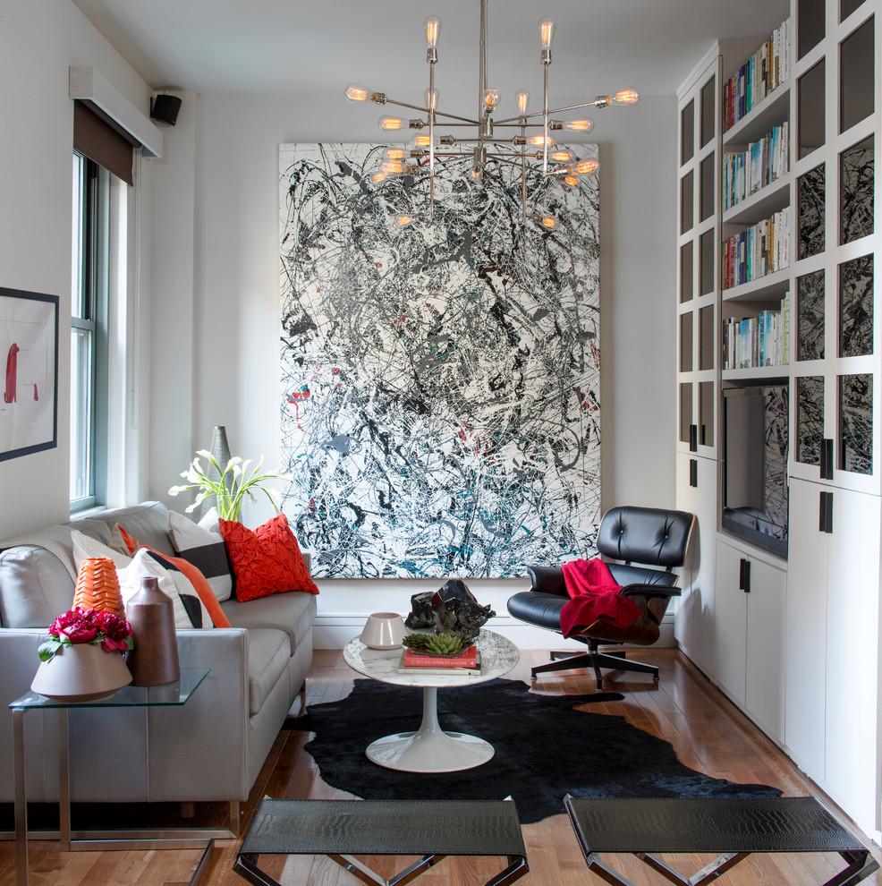 A Sophisticated Boston Living Room, Living Room Boston