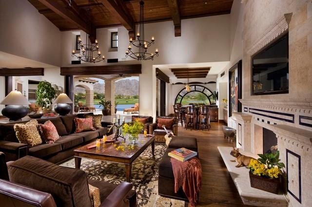 Marvelous A Spanish Revival/ Spanish ColonialMediterranean Living Room, Orange County