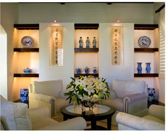 A Special Display of Art traditional-living-room