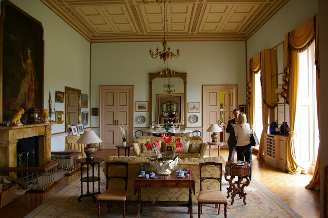 A Stately Home Restoration Traditional Living Room Other Metro By Mal