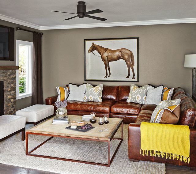 A Suburban Oasis - Transitional - Living Room - San Francisco - by ...