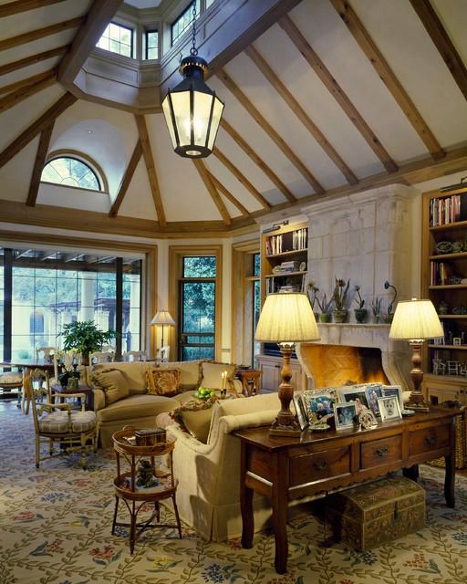 A Texas Home - Mediterranean - Living Room - dallas - by ...