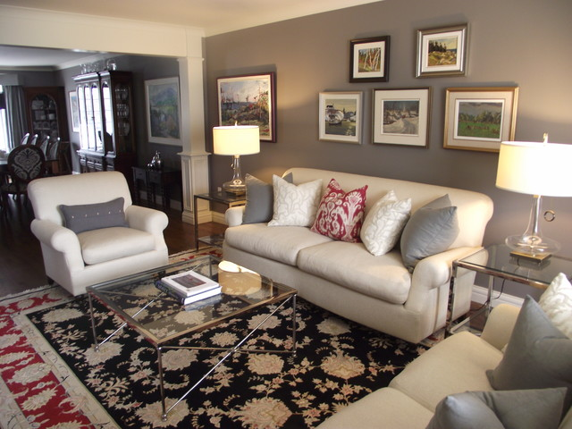 A Touch of Class contemporary-living-room