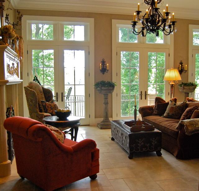 11 Tuscan Transitional Living Room Ideasinterior Design: A Tuscan Villa Home