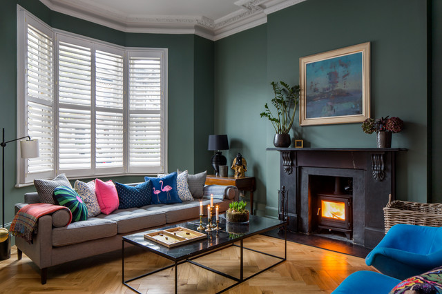 A Warm Modern Home in Balham