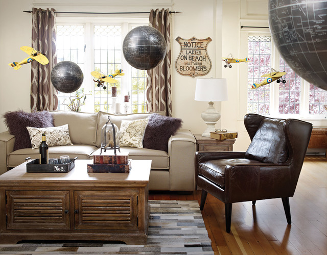 A Well Travelled Room Traditional Living Room Other Metro By Urban Barn