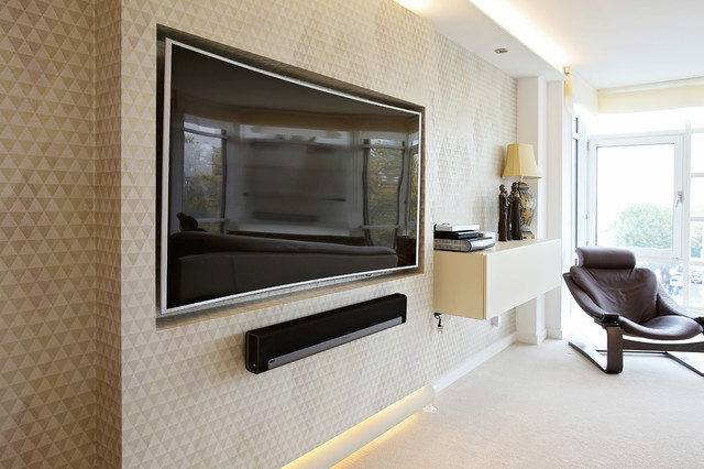 Abbey road traditional living room london by for Abbey road salon
