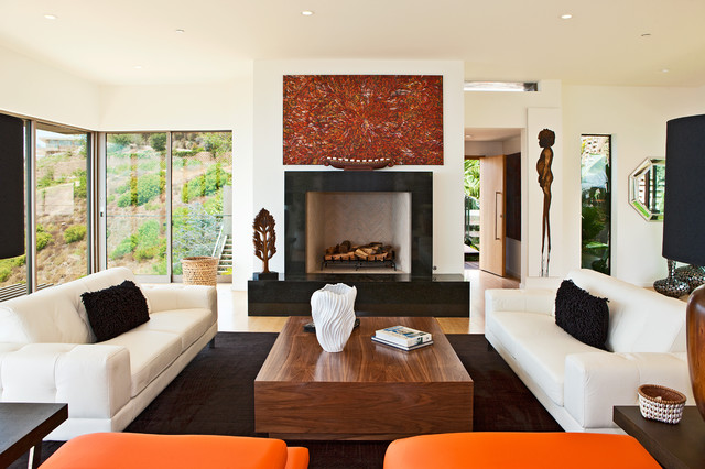 Aboriginal Art In Malibu Home For Sale Contemporary