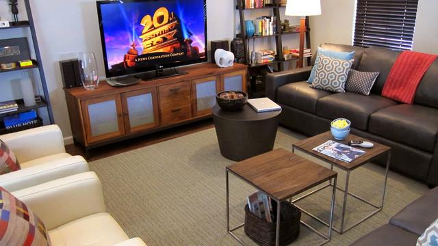 ABQ Home Contemporary Living Room Albuquerque