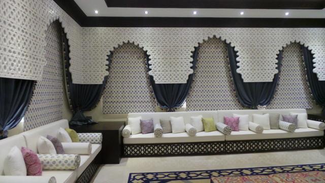 . Abu Dhabi Moroccan Majlis   Modern   Living Room   Other   by