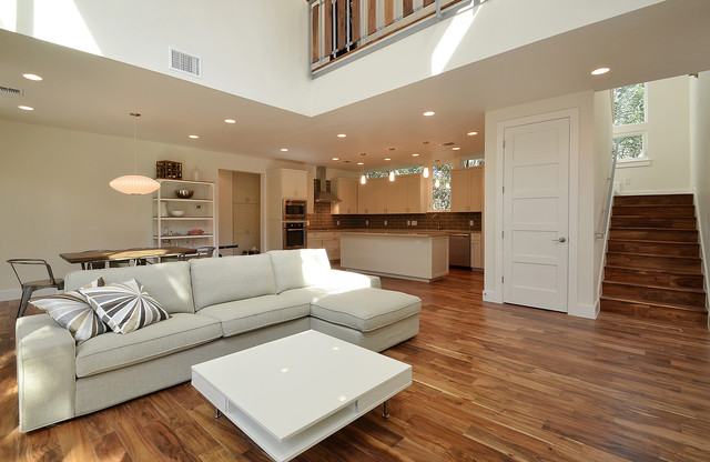 Acacia Natural Hardwoods Living Room